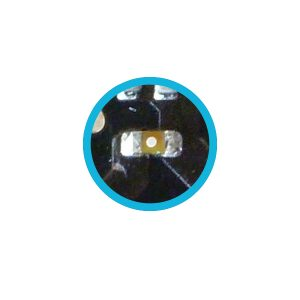 Macbook LED backlight zekering fuse 2A 32VDC 0402