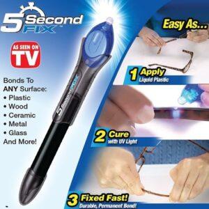 5 Second Fix Glue - Lijm Perfect voor Plastic, Glas, Hout, Stof, Metaal en meer!