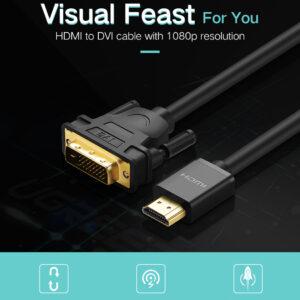 Ugreen HDMI naar-DVI KABEL