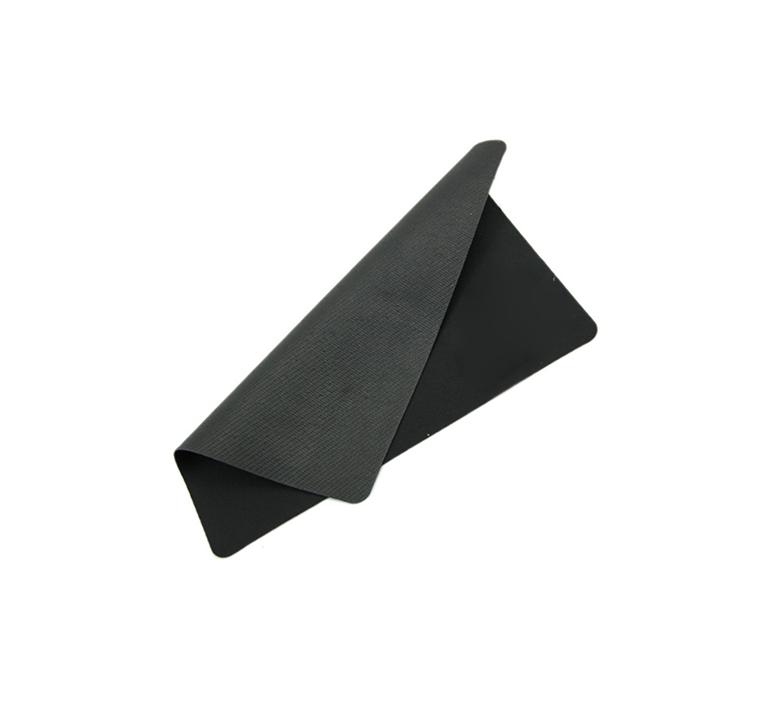 muismat zwart plat