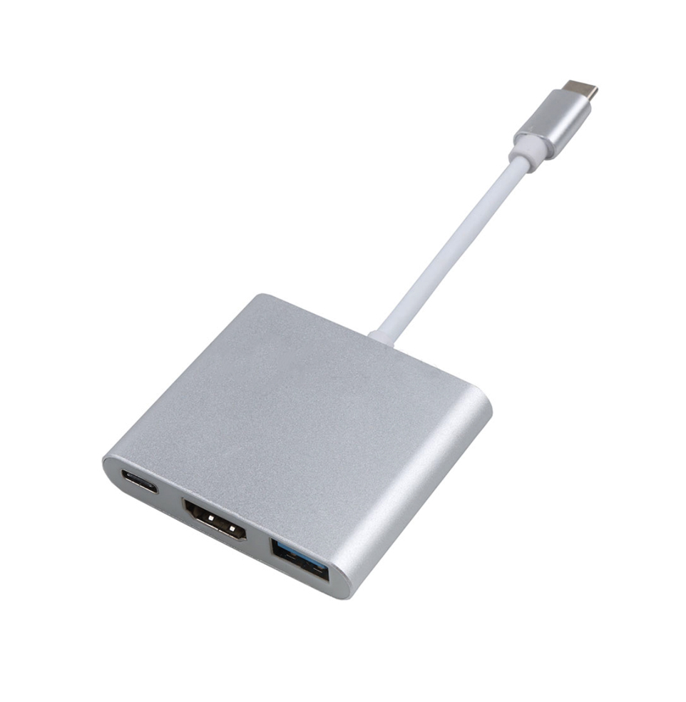 usb C naar USB A HDMI USB C