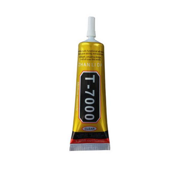 Top GSE T-7000 Zwarte Lijm 50 ml | MacTurn IK06