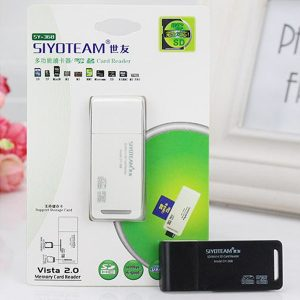 Memory Card Reader 10 in 1 SY-368 USB 2.0 480Mbps Hi-Speed