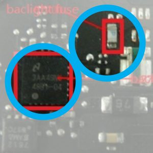 "LED BackLight Driver IC Chip & Backlight zekering Macbook pro 13 ""A1502 820-3476-A"