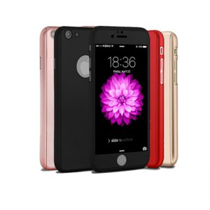 360° protectie met 3 in 1 Full Cover Case voor iPhone 6 Plus / 6S Plus Hoesje