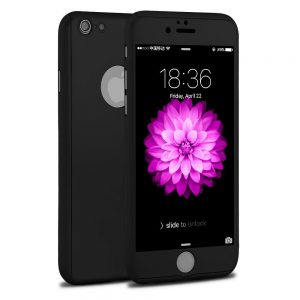 360° protectie met 3 in 1 Full Cover Case voor iPhone 6 / 6S Hoesje