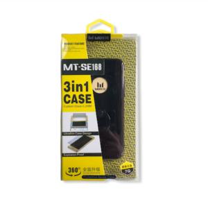 360° protectie met 3 in 1 Full Cover Case voor iPhone 7 / 8 Hoesje