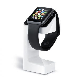 Apple Watch Houder / Stand 38 mm / 42 mm - Wit / Zwart