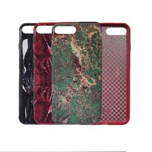 iPhone 7 / 8 Plus Marmer Patroon Back Hoesje