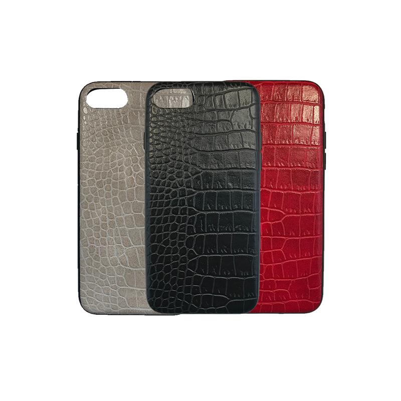 iPhone 7 / 8 Luxe Leren Back Cover Hoesje