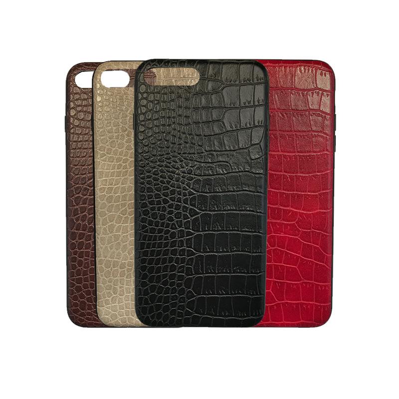 iPhone 7 Plus / 8 Plus Luxe Leren Back Cover Hoesje