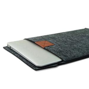 Stof Macbook Pro/Air/Retina Sleeve - Bescherm Hoes - Zwart