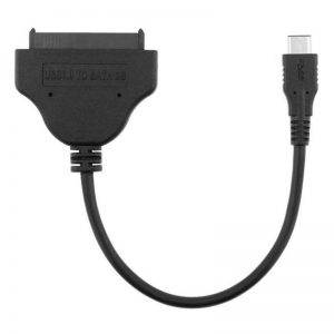 USB TYPE C naar SATA kabel