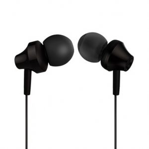 Xssive Metal Dynamic Earphone – In Ear Oordopjes - Zwart