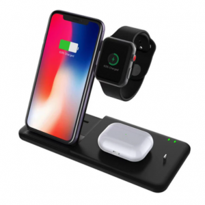 4 in 1 Draadloos Docking Station Apple Watch, Airpods en iPhone