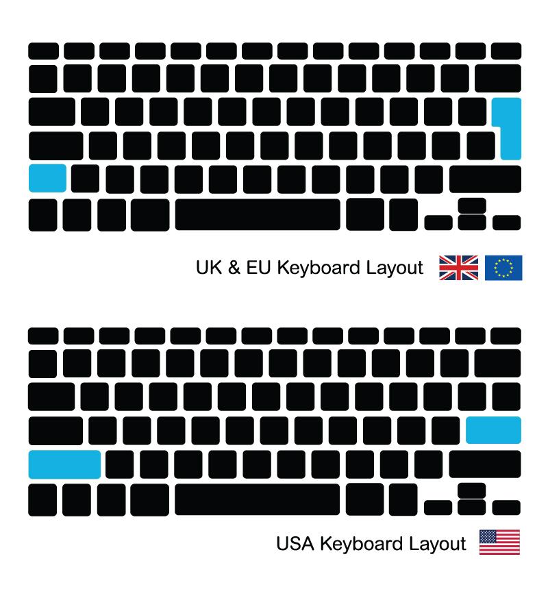 Keyboard / toetsenbord backlight verlichting Macbook Air ...