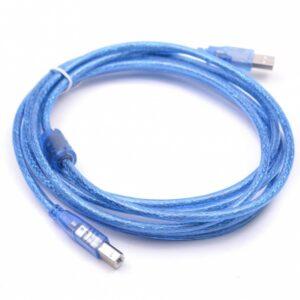 USB 2.0 Printerkabel 5 meter - Blauw