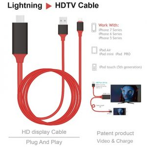 Lightning naar HDTV HDMI Kabel 2 meter