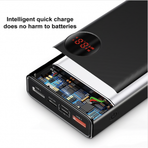 20000mAh Power Bank Portable Oplader met USB Type C - Baseus