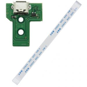 PS4 Controller Micro USB Charging Socket Circuit Board JDS-030 F001-V1
