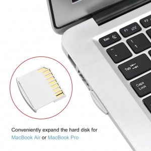 Macbook Opslag uitbreidingskaart Nifty alternatief Mini Drive Macbook Air & Pro