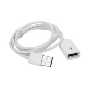 USB 2.0 verlengkabel - Wit