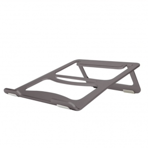 Aluminium Macbook / Laptop stand antislip.