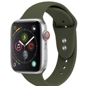 Apple Watch Silicone Sportband Midnight Green – Apple Watch Series 0/1/2/3/4/5