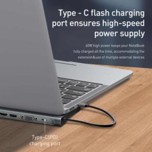 Baseus USB-C 11-in-1 Smart Hub Station voor notebooks en macbook