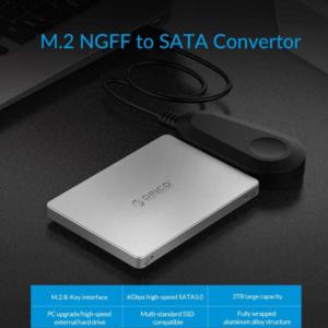 Orico M.2 SSD Adapter behuizing