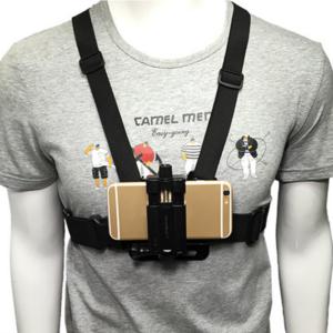 Telefoon borst mount harnas strap
