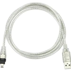 USB 2.0 naar Firewire 1394 4 pin kabel