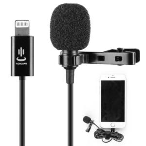 Mini draagbare microfoon met Lightning aansluiting