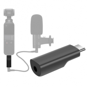 DJI Osmo Pocket 3.5mm adapter (USB-C) replacement