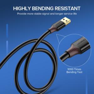 Ugreen USB 2.0 A-Man naar Man kabel
