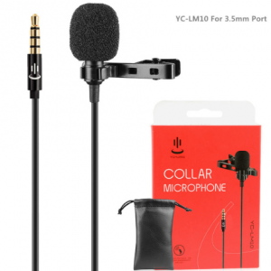 Mini draagbare microfoon met 3.5mm Jack aansluiting