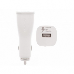 Samsung Originele Adaptive Fast Charging Auto lader 9.0V + USB-C kabel 1,2 meter
