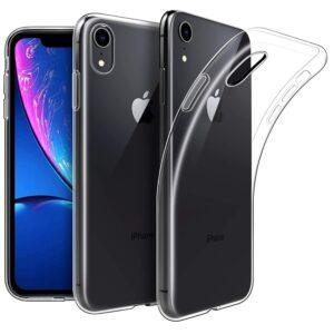 Transparante iPhone XR back hoesje