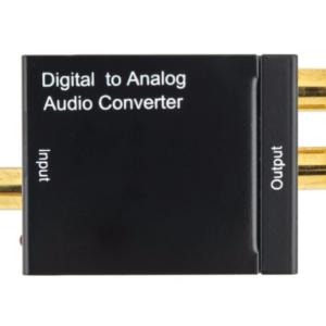 Digitaal naar analoog audio converter