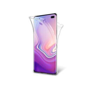 360° Full Cover Transparant TPU case voor Samsung S10 Plus