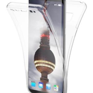 360° Full Cover Transparant TPU case voor Samsung S8 Plus