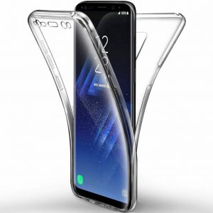 360° Full Cover Transparant TPU case voor Samsung S9 Plus