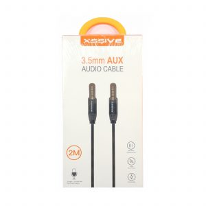 3,5mm Audio Aux kabel - LS-Y01 - 1 meter- 2 meter - zwart