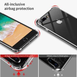 iPhone 7 Plus/ iPhone 8 Plus Anti Shock Transparant Case