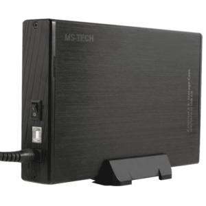 "MS-Tech HDD enclosure 3.5"" Zwart opslagbehuizing LU-37PS"