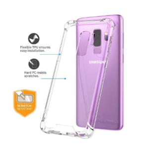 Samsung S9 Plus Anti Shock Transparant Case