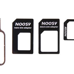 Simkaart Adapter Set 3-in-1 met Micro & Nano Sim Adapter