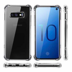 Samsung S10E Anti Shock Transparant Case