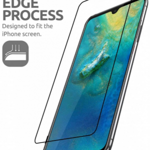Huawei Mate 20 Tempered Glass (Screen Protector) Full Cover (Zwart)