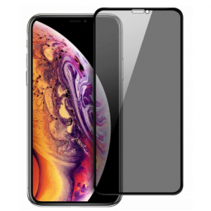 iPhone XR Privacy Tempered Glass (Screen Protector) Full Cover